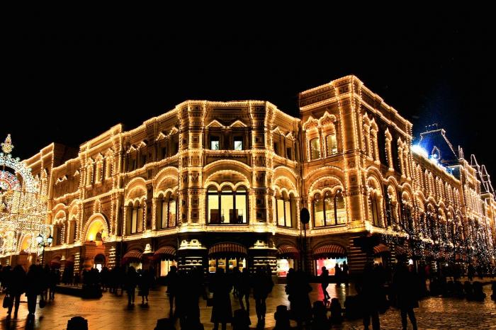 ТОП-5 достопримечательностей Москвы