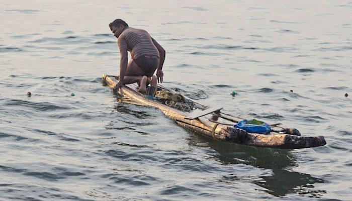 Индийские рыбаки и лодки. Часть 1