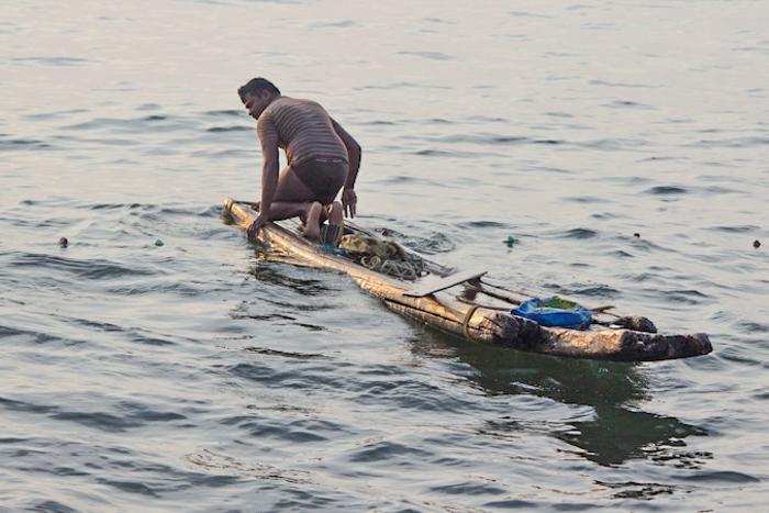 Индийские рыбаки и лодки. Фото: Татьяна Виноградова/Великая Эпоха
