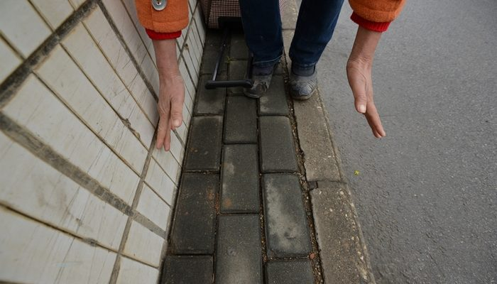 Эти узкие китайские тротуары