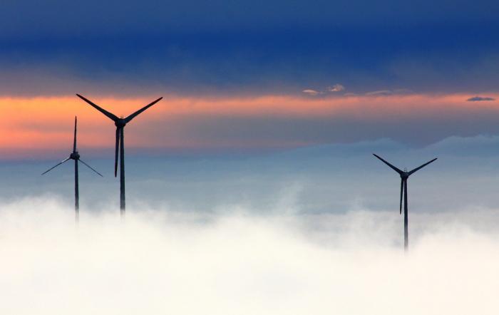 Ветер предлагает здоровый способ выработки электроэнергии