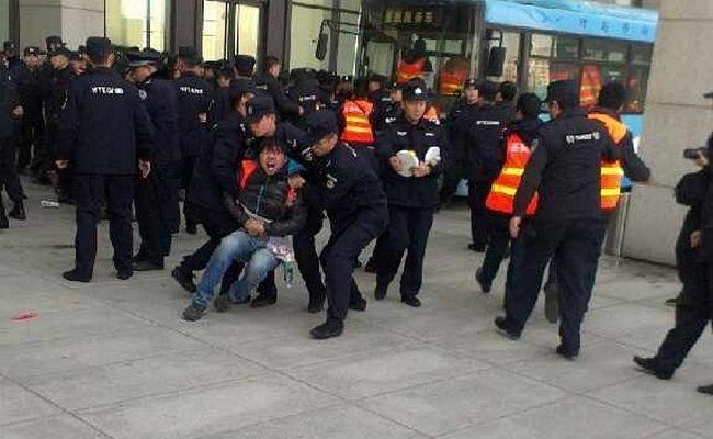 Очередной протест вкладчиков компании недвижимости прошёл в Китае
