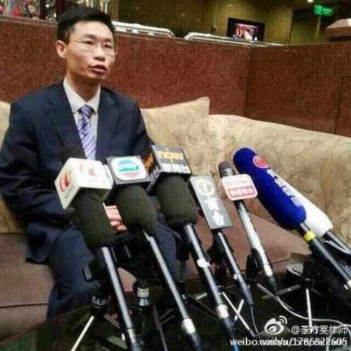 Адвокат Чжан Кэкэ. Фото с epochtimes.com