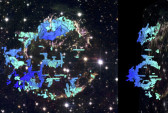 Создана трёхмерная карта взрыва сверхновой звезды «Кассиопея A»