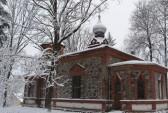 Достопримечательности Салдуса: церковь Богоявления. Фото с сайта http://wikimapia.org/