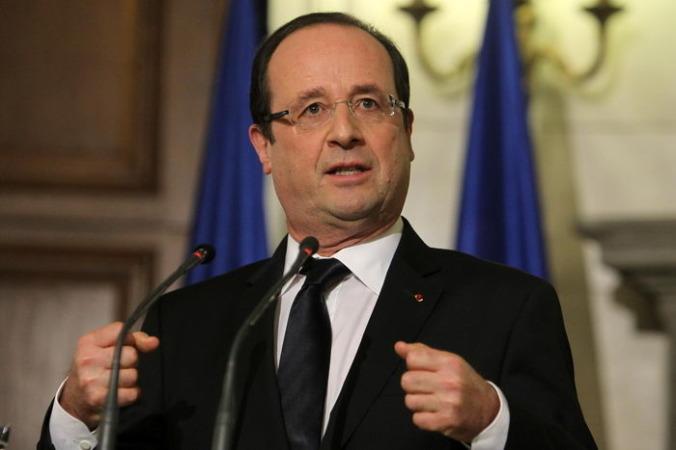 Президент Франции Франсуа Олланд. Фото: Thanassis Stavrakis — Pool/Getty Images