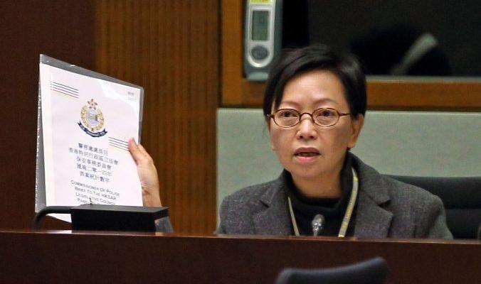 Полицию Гонконга обвинили в «белом терроре»