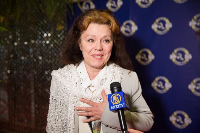 Ваня Ангелова, известный болгарский композитор, в Монреальском центре искусств 8 января 2015 г. Фото: Evan Ning/Epoch Times