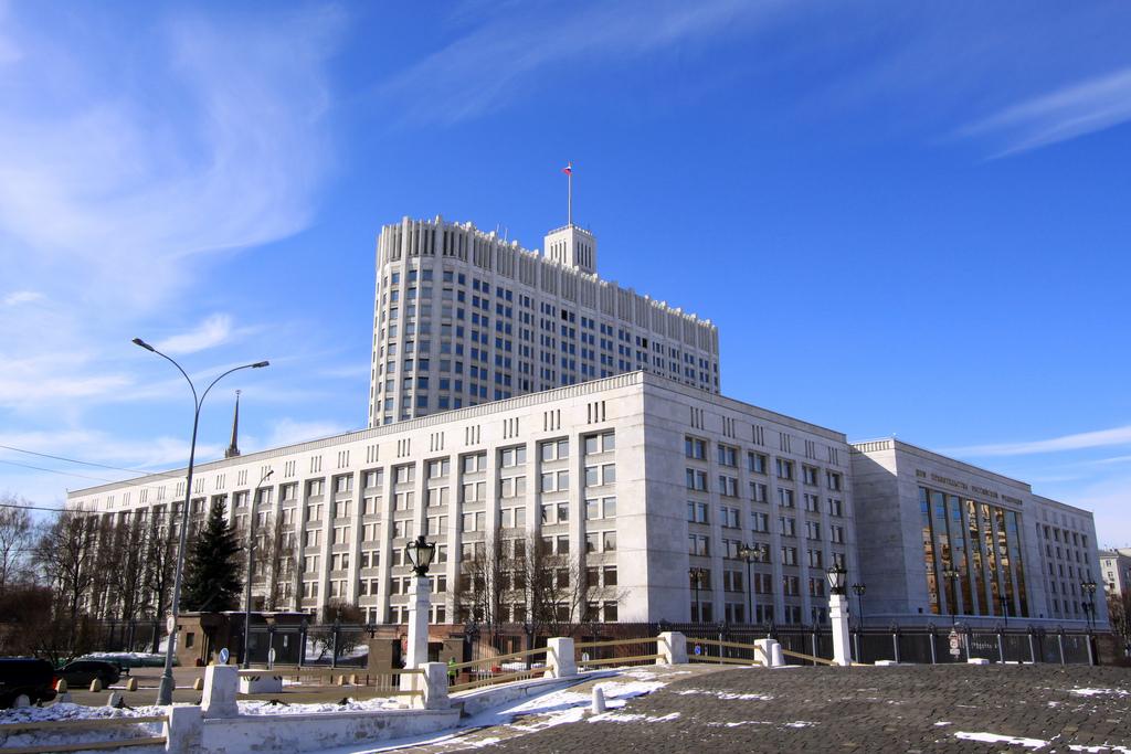 Белый дом правительства России в Москве.  Фото: Jürg Vollmer/flickr.com