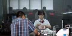 В ряде китайских банков исчезли деньги клиентов