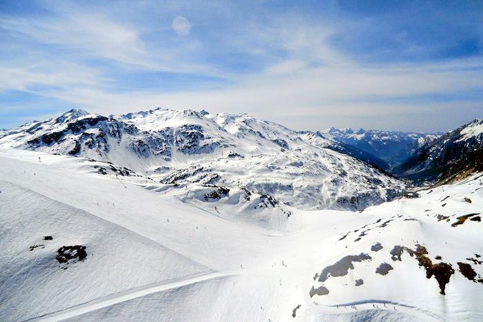 Арлберг — горнолыжный регион в Альпах. Фото: Станислав Лавриненко