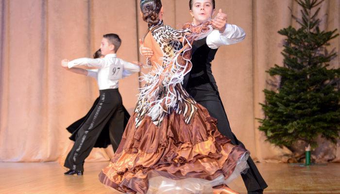 Краевые соревнования по спортивным танцам состоялись в Новороссийске