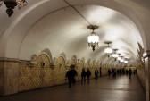 Москва. Переход в московском метро. Фото: vicamilleri.com