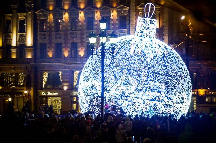 новый год, Москва