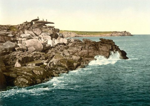Место на островах Силли, известное как возвышенность Св. Марии