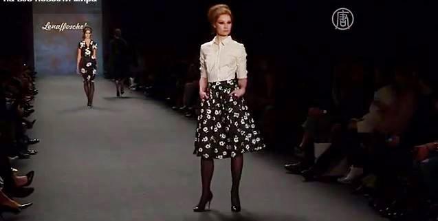 Неделя моды в Берлине. Скриншот видео