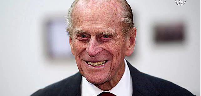 Британский принц Филипп. Скриншот видео
