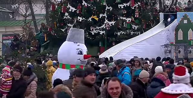 Украинцы о своих планах на 2015 год  (видео)