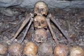 кости, череп, катакомбы