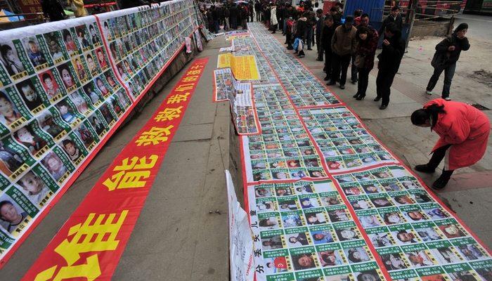 В Китае арестовали очередную банду торговцев людьми