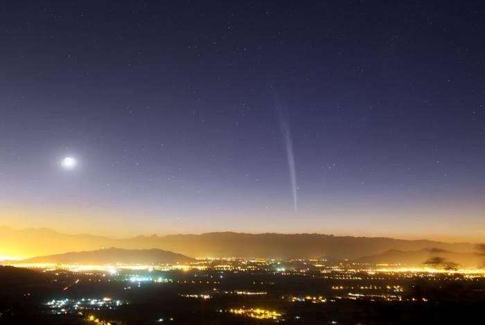 Снимок кометы Ладжоя. Фото: kosmos-x.net.ru
