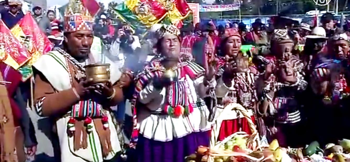 В Ла-Пасе началась ежегодная ярмарка «Аласитас». Скриншот видео