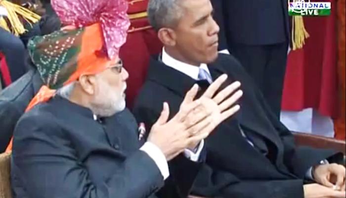 Индия: День Республики впервые посетил президент США (видео)