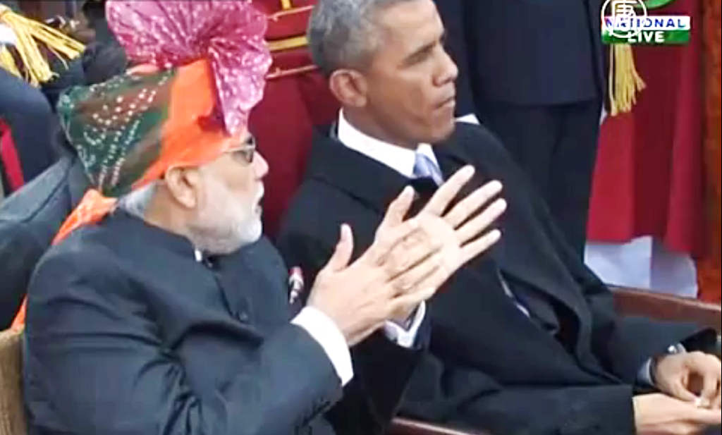 День Республики впервые посетил президент США. Скриншот видео