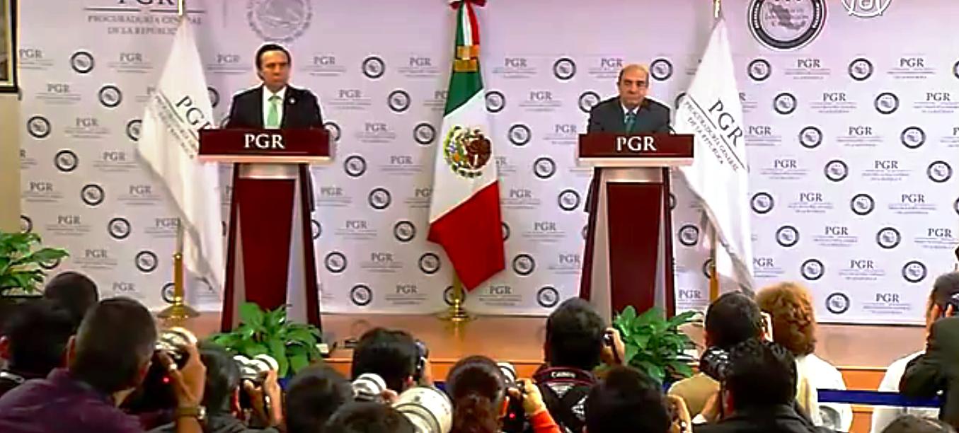 Гибель мексиканских студентов, похищенных в сентябре, официально подтвердила генпрокуратура страны. Скриншот видео