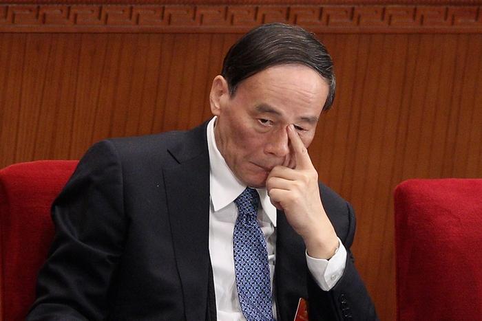 Ван Цишань, руководитель Центральной комиссии КПК по проверке дисциплины. Фото: Feng Li/Getty Images
