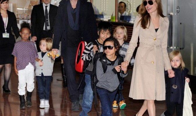 Анджелина Джоли и Брэд Питт усыновили сирийского малыша
