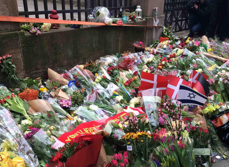 В Дании прошли акции в память о жертвах нападений