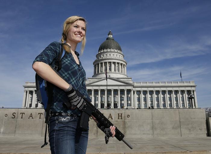 В США могут разрешить ношение оружия в университетских городках. Фото: George Frey/Getty Images