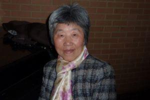 Г-жа Тянь 13 февраля 2015 года в Филадельфии. В Китае её приковывали к больничной кровати, подготавливая к насильственному изъятию органов. Фото: Friends of Falun Gong
