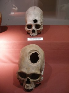 череп, инки