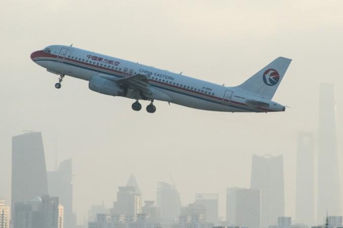самолёт в Китае
