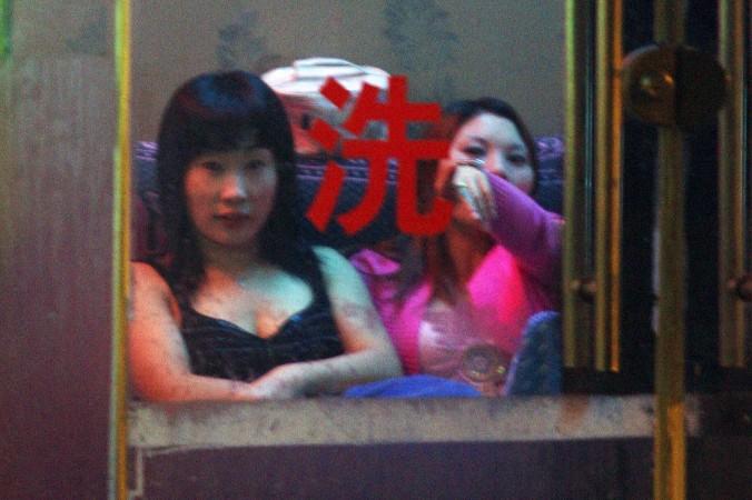 китайские проститутки