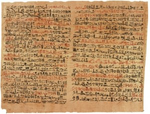 Имхотеп, папирус