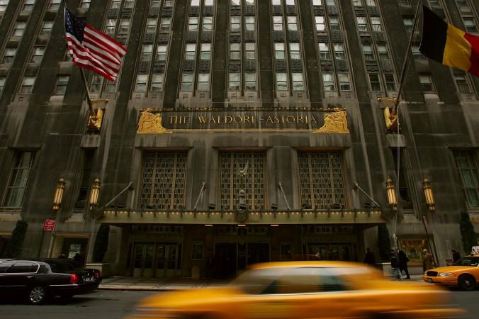 Отель Waldorf Astoria