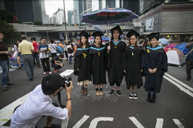 студенты Гонконга