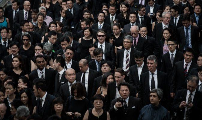 Профессионалы Гонконга объединились ради демократии