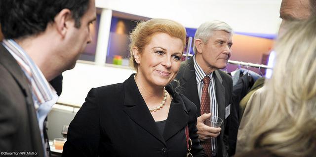 Президент Хорватии, Колинда Грабар-Китарович, инаугурация