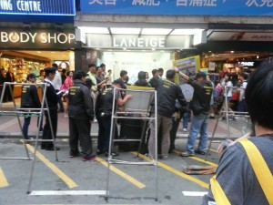 нарушения в Гонконге