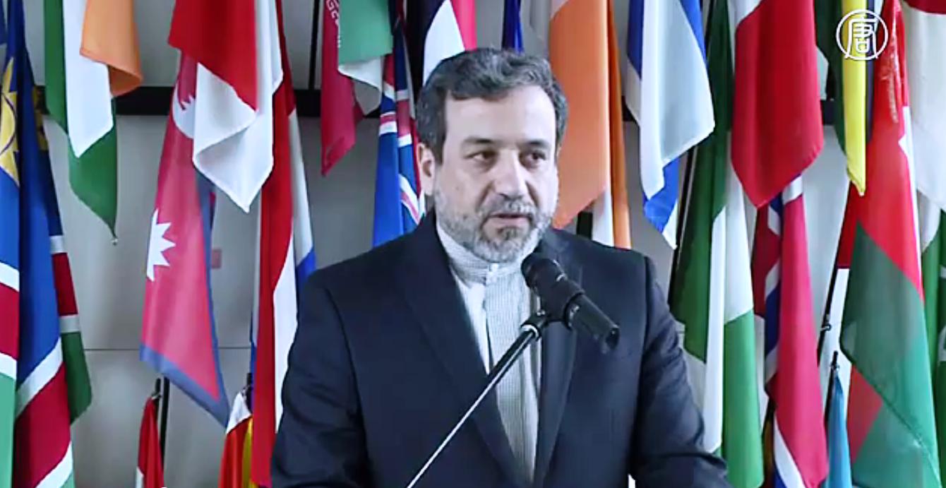 Аббас Аракчи, замминистра иностранных дел Ирана. Скриншот видео: Телеканал NTD
