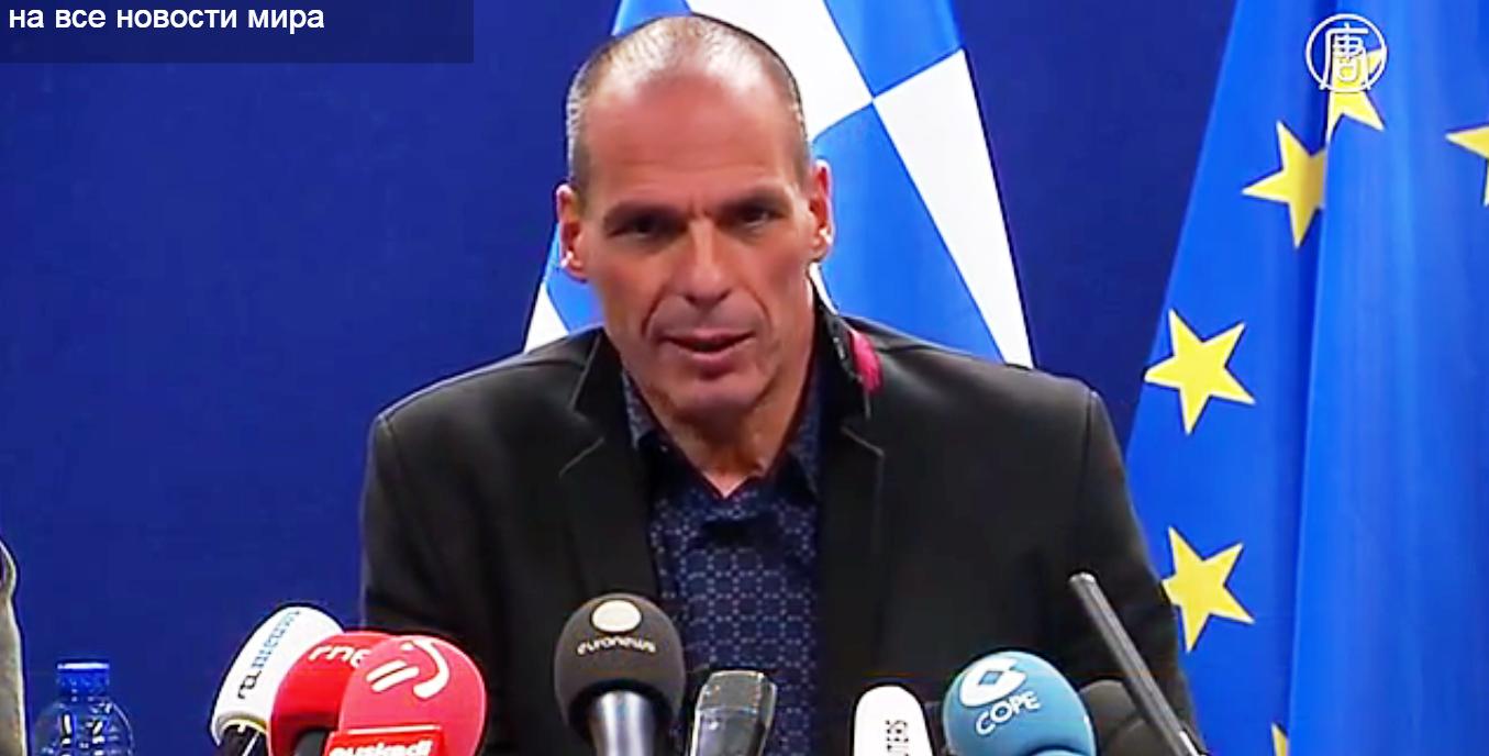Греческая сторона отклонила требование продлить ещё на полгода программу финансовой помощи. Скриншот видео: Телеканал NTD