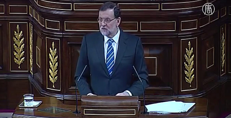 Премьер-министр Мариано Рахой подтвердил, что страна находится на пути восстановления. Скриншот видео: Телеканал NTD