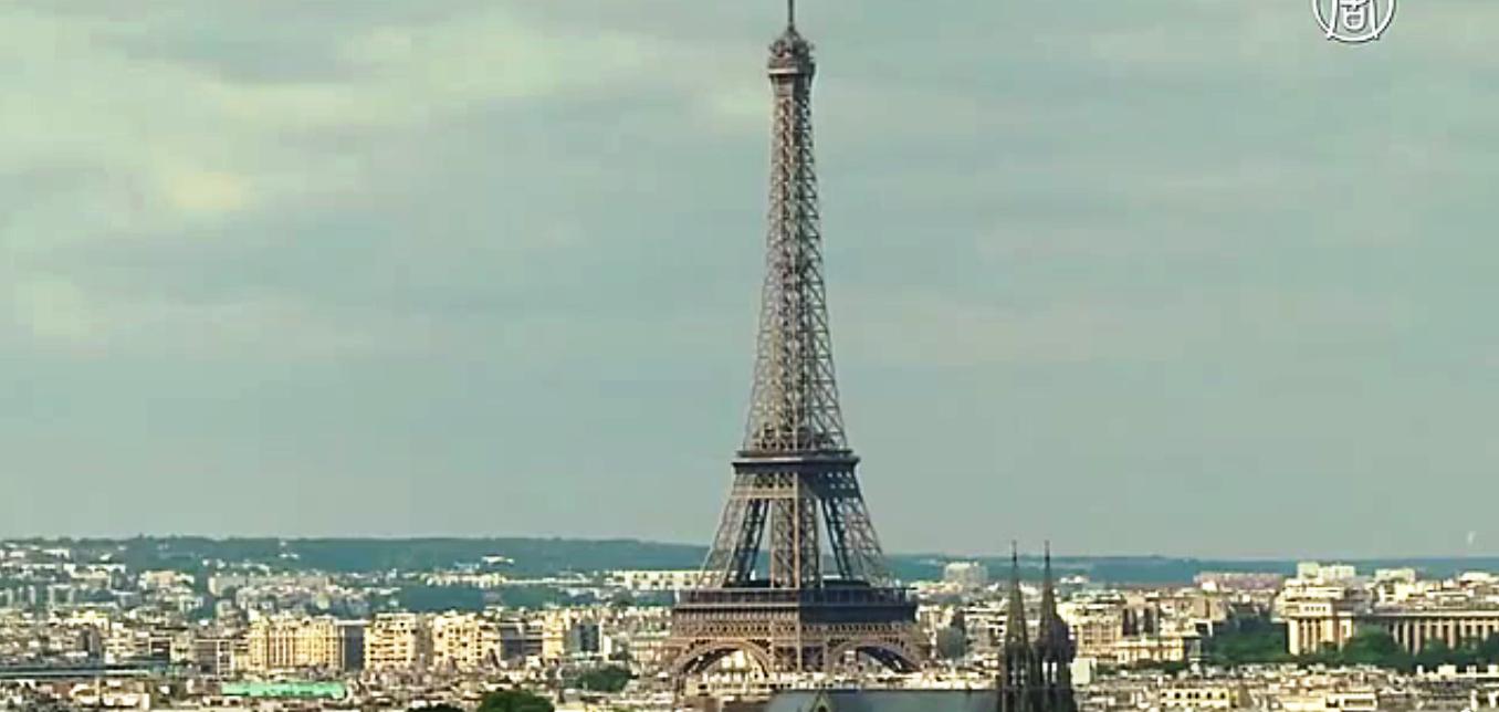 Париж может стать потенциальным кандидатом на проведение Олимпиады 2024 года. Скриншот видео