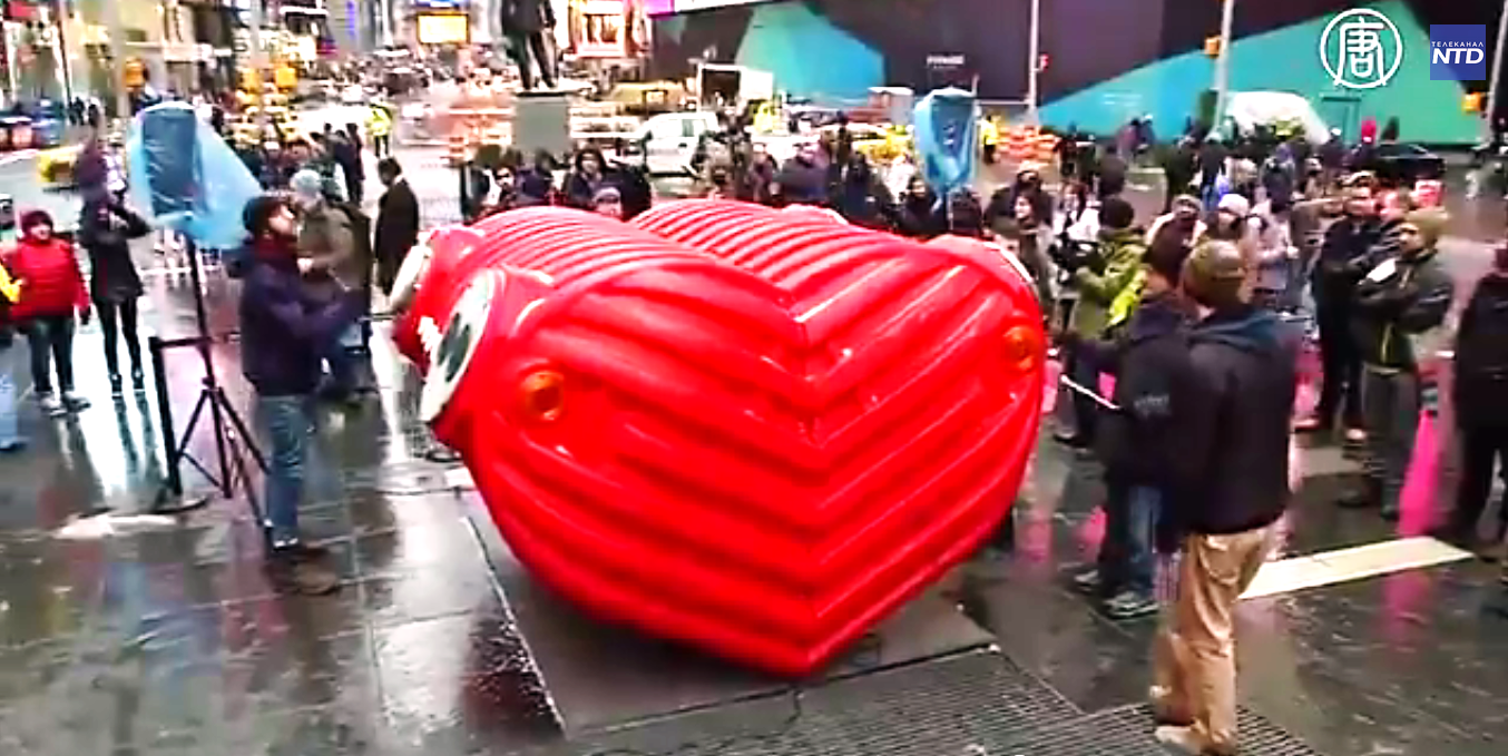 Называется скульптура – HeartBeat, что дословно переводится как «сердцебиение».  Скриншот видео