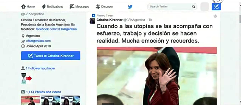 Президент Аргентины неудачно пошутила о китайцах. Скриншот видео