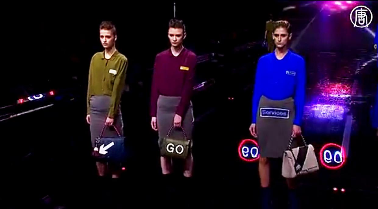 В Великобритании и за её пределами особой популярностью пользуются сумки Хиндмарч. Скриншот видео: Телеканал NTD